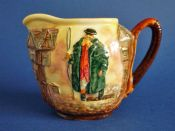 Royal Doulton 'Tony Weller' Dickens Series 'G' Low Relief Jug c1953